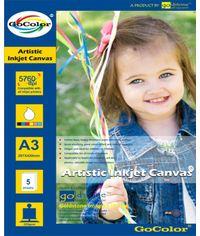 GoColor Artistic Inkjet Canvas 320 Gsm A4 / 5 sheets