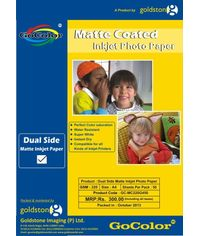 GoColor Duel Side Matte Coated Inkjet Paper 220 GSM A4 50 sheet