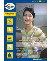 GoColor Matte Coated Inkjet Paper 150 GSM A4 100 sheet