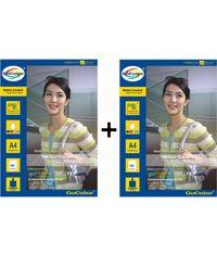 GoColor Matte Coated Inkjet Paper 150 GSM A4 100 sheet x 2 Packs Combo