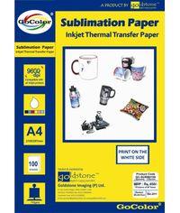 GoColor Sublimation Inkjet Paper 100 GSM A4 100 Sheet