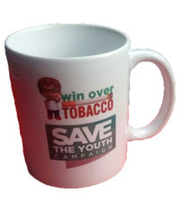 Win Over Tobacco Mugs