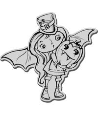 Stampendous Halloween Cling Rubber Stamp