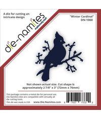 Die-Namites Die- Winter Cardinal