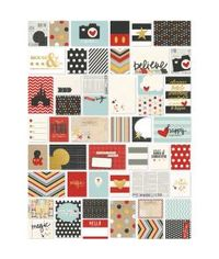 Sn@p! Double-Sided Card Pack 72/Pkg - Say Cheese II