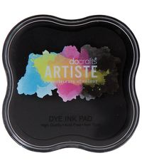 Artiste Dye Ink Pad - Black