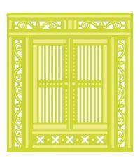 Kaisercraft Die-Ornate Doors 4.25