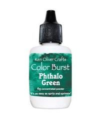 Ken Oliver Color Burst Powder 6gm - Phthalo Green
