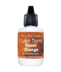 Ken Oliver Color Burst Powder 6gm - Burnt Orange