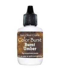 Ken Oliver Color Burst Powder 6gm - Burnt Umber