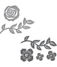Spellbinders Stamp & Die Set By Sharyn Sowell - Floral Set