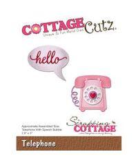 CottageCutz Die - Telephone, 2.8