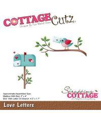 CottageCutz Die - Love Letters, 1.7