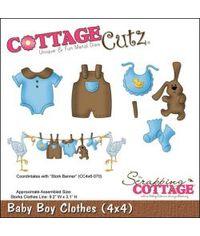 CottageCutz Die - Baby Boy Clothes .2