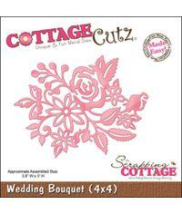 CottageCutz Die W/Foam (Wedding Bouquet Made Easy)