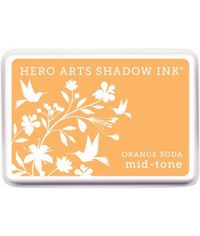 Hero Arts Midtone Ink Pads - Orange Soda