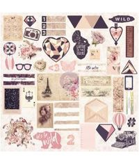 Wild & Free Ephemera Cardstock Die-Cuts