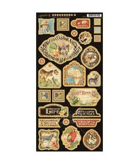 Safari Adventure Chipboard Die-Cuts 6
