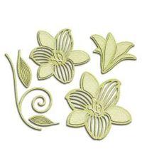 Spellbinders Shapeabilities Dies - Romantic Blooms 3