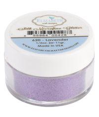 Elizabeth Craft Designs Silk Microfine Glitter .5oz - Lavender