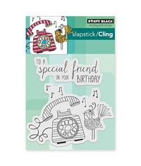 Penny Black - Rubber Stamp - Birthday Tweetings
