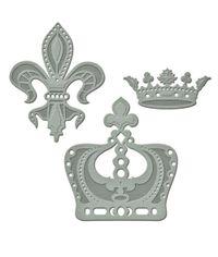 Spellbinders A Gilded Life Die - Royal Medallions