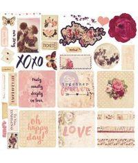 Love Clippings Ephemera Cardstock Die-Cuts