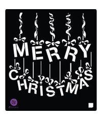 A Victorian Christmas Stencil 6