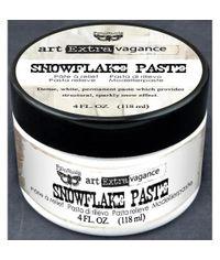 Finnabair Art Extravagance Snowflake Paste 4oz