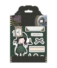Santoro Gorjuss Tweed Rubber Stamps - Nightlight