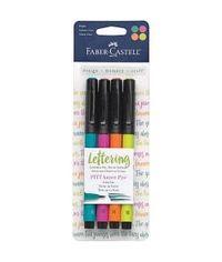 Mix & Match PITT Artist Brush Pens 4/Pkg - Bright