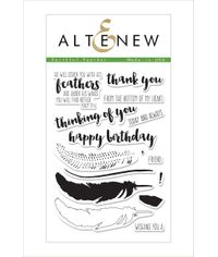 Altenew - Faithful Feather Stamp Set