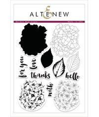 Altenew - Garden Hydrangea Stamp Set