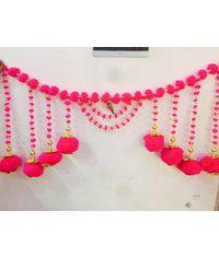 Exclusive Door Hanging - Pearl, Pomp-Pomp & Beads (40