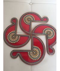 "Designer Acrylic Rangoli (20"")"