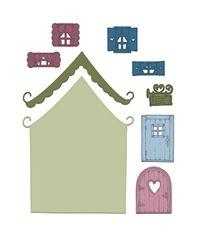 Heartfelt Creations - Wildwood Cottage Die
