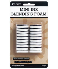 Ranger Mini Ink Blending Tool Replacement Foam - 20 / pack