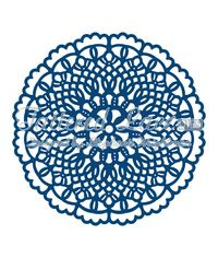 Tattered Lace Dies - Doily Flourish