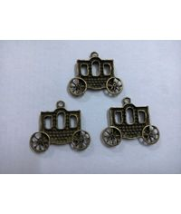 Vintage Carriage Charms   (4 pcs)