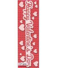 Martha Stewart Valentine Sticker HappyValentineDay