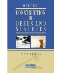 Construction of Deeds and Statutes, 5th Edn. (Fifth Indian Reprint)