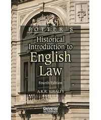 Historical Introduction to English Law, 4th Edn. (Indian Economy Reprint)