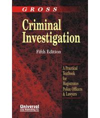 Criminal Investigation, 5th Edn., (Fourth Indian Reprint)