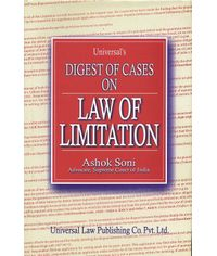 Universal's Digest of Cases on Law of Limitation