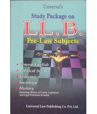 Study Package on LL.B. (Pre-Law Subjects)