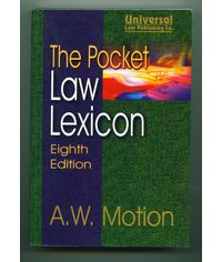 Pocket Law Lexicon, 8th Edn. (Indian Economy Reprint)