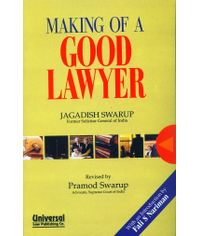 Making of a Good Lawyer, 2nd Edn. 2005, (Reprint)