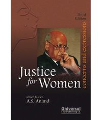Justice for Women - Concerns & Expressions, 3rd Edn.