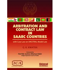 Arbitration and Contract Law in SAARC Countries with CAse Law on UNCITRAL