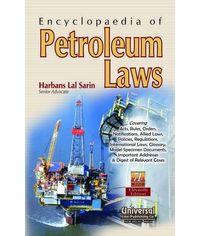 Encyclopaedia of Petroleum Laws, 11th Edn.